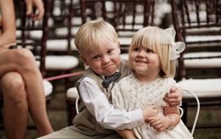 children at weddings