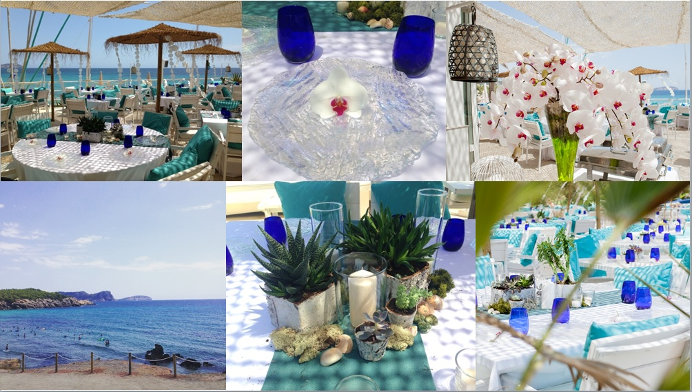 Ibiza Beach Party collage