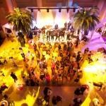 yellow dancefloor overview