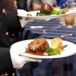 dinner service meat