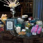 sweet bar candy display