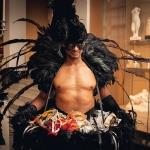 raven man mask masquerade