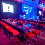 blue and red bar mitzvah