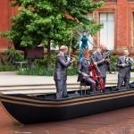 string quartet canoe masquerade