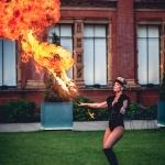 fire act breather girl