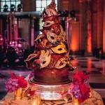 masked cake
