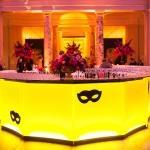 yellow bar light up masquerade