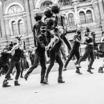 flash mob dancers masquerade