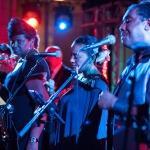 live musicians close up