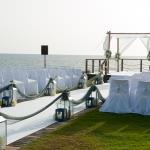 ceremony beach abroad