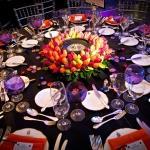 casino vegas themed table