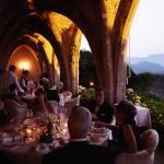 sunset reception abroad