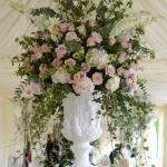 vase flowers ivy