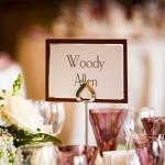 woody allen name card