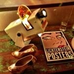 vintage shoes projector posters