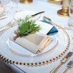 herbal place setting