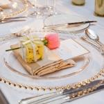 place settings and favours