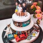 personalised cake decor