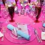 zoe's bar mitzvah place settings