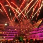 fireworks display party portugal