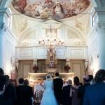 lucy and peter ceremony chapel