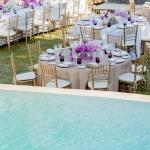 table setting orchid pool