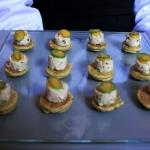canapes blinis