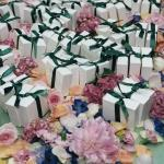 wedding favours flower petals