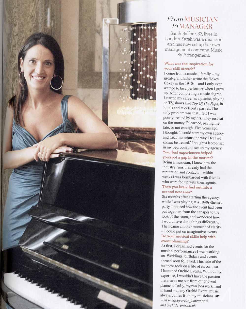red magazine press sarah balfour