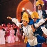 asian oriental dancers wedding