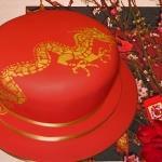 chinese dragon fondant cake