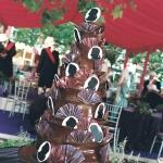 silhouette chocolate cake