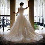 London Wedding Planner wedding dress elegant