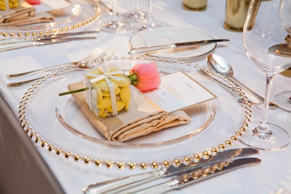 Wedding Planner wedding favour rose