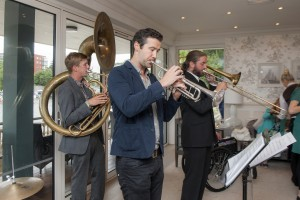 Boat House brass band