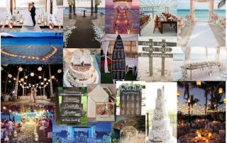 Beach Wedding mood boards blog