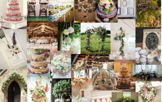 English Country Wedding moodboard blog
