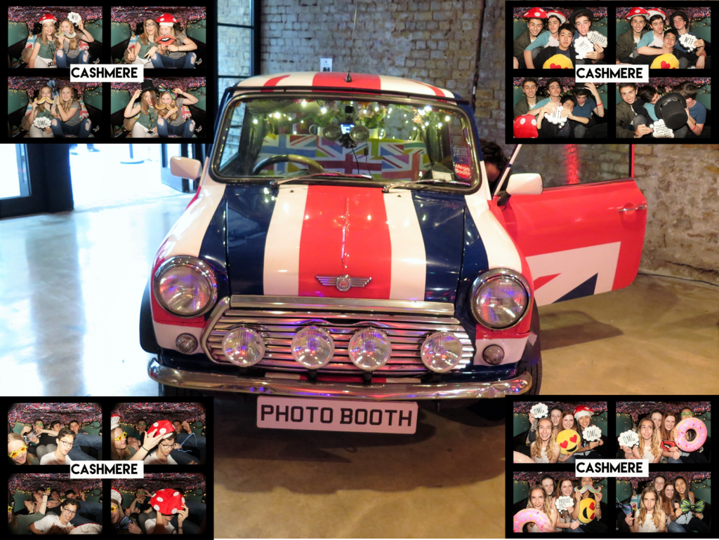 CASHMERE Showcase photobooth car