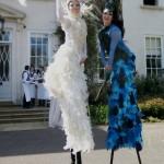 Stilt walkers by Music By Arrangement entertainment