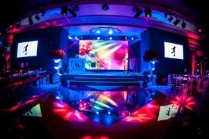 Dorchester Hotel Bar Mitzvah stage