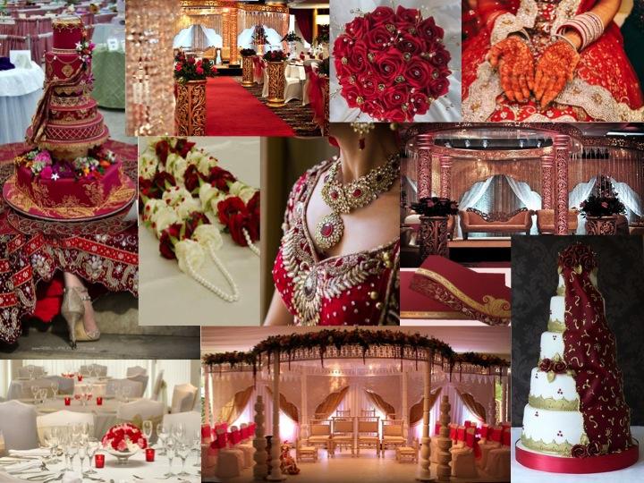 Asian Weddings Moodboard