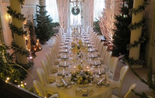 Christmas Party table