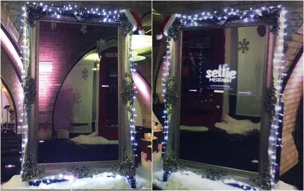 selfie mirror for a party