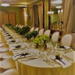 Table setting dorchester pavilion
