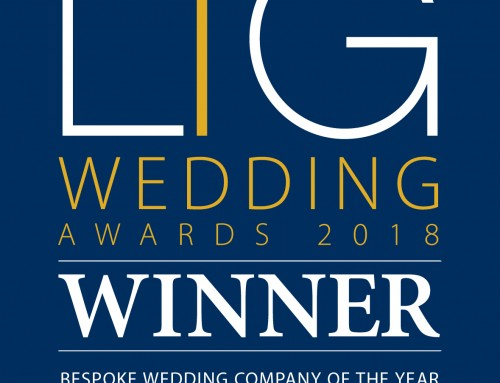 London Wedding Planner Orchid Events is awarded the Bespoke Wedding Company of The Year!